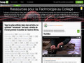 Ressources pour la Technologie au College | Scoop.it